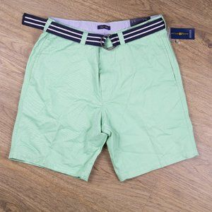 Club Room Mens Casual Shorts Light Green Size 34
